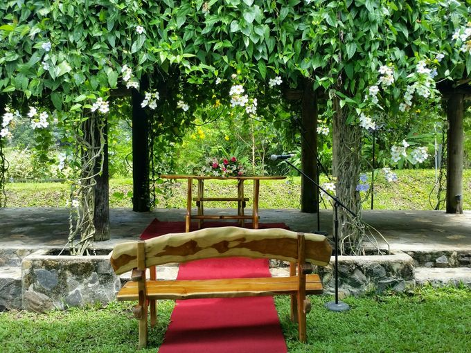 Intimate Garden Wedding by Gintung Pakpak Eco Park - 009