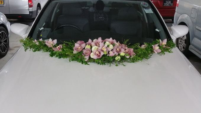 Wedding Car Decoration By Tree House Flowers Gifts Bridestory