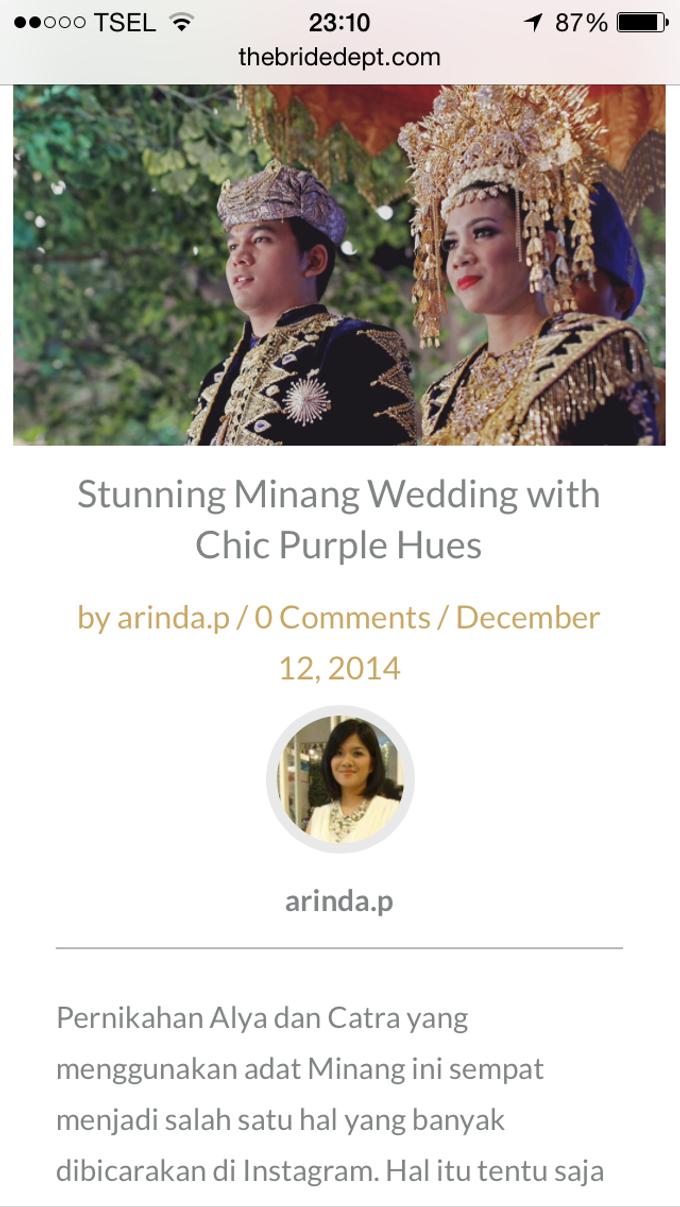 Alya & Catra - When Java meets Minang by Culture Royale Catering - 008