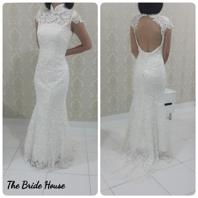 makeup n dress for wedding by The Bride House - 008