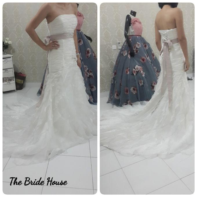 makeup n dress for wedding by The Bride House - 009