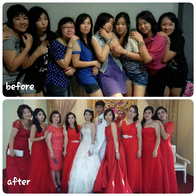 Family makeup n Gown by The Bride House - 012