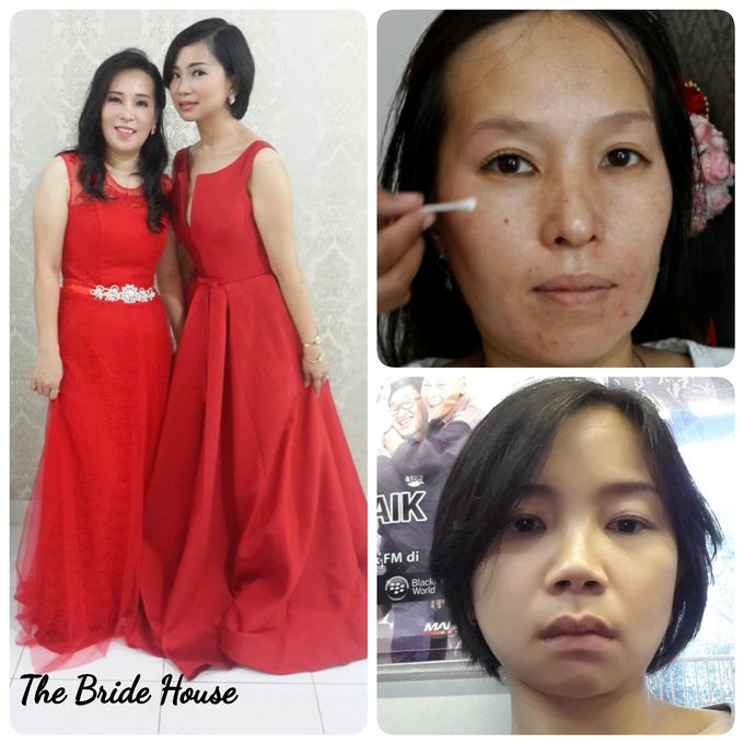 Family makeup n Gown by The Bride House - 015