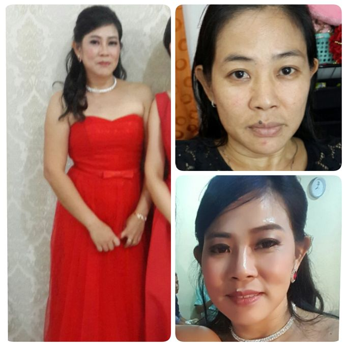 Family makeup n Gown by The Bride House - 016