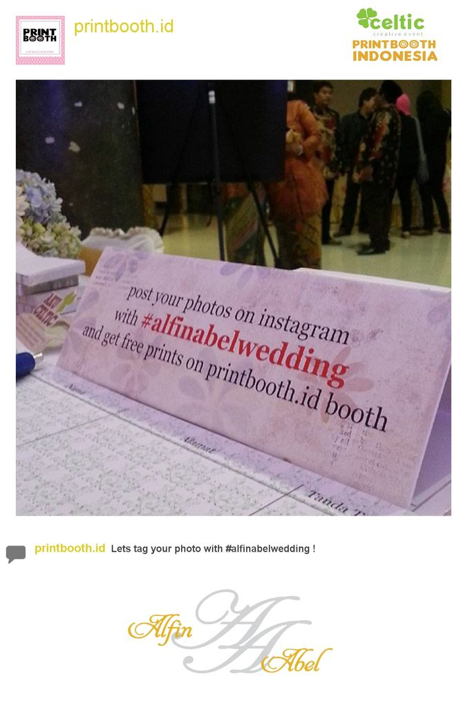Alfin and Abel Wedding Day by PRINTBOOTH INDONESIA - 002