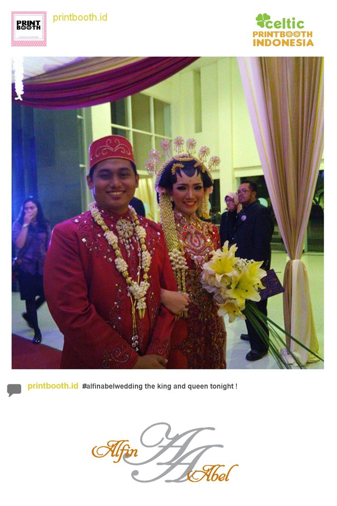 Alfin and Abel Wedding Day by PRINTBOOTH INDONESIA - 008