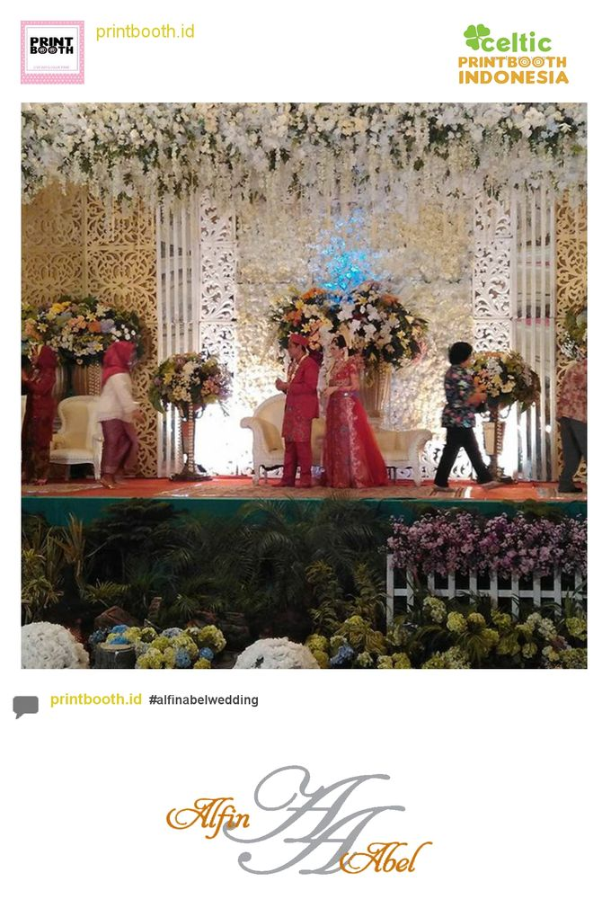 Alfin and Abel Wedding Day by PRINTBOOTH INDONESIA - 009