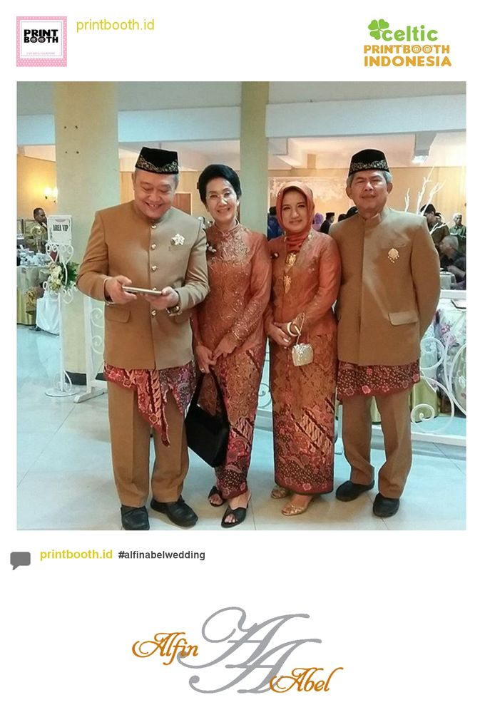 Alfin and Abel Wedding Day by PRINTBOOTH INDONESIA - 010