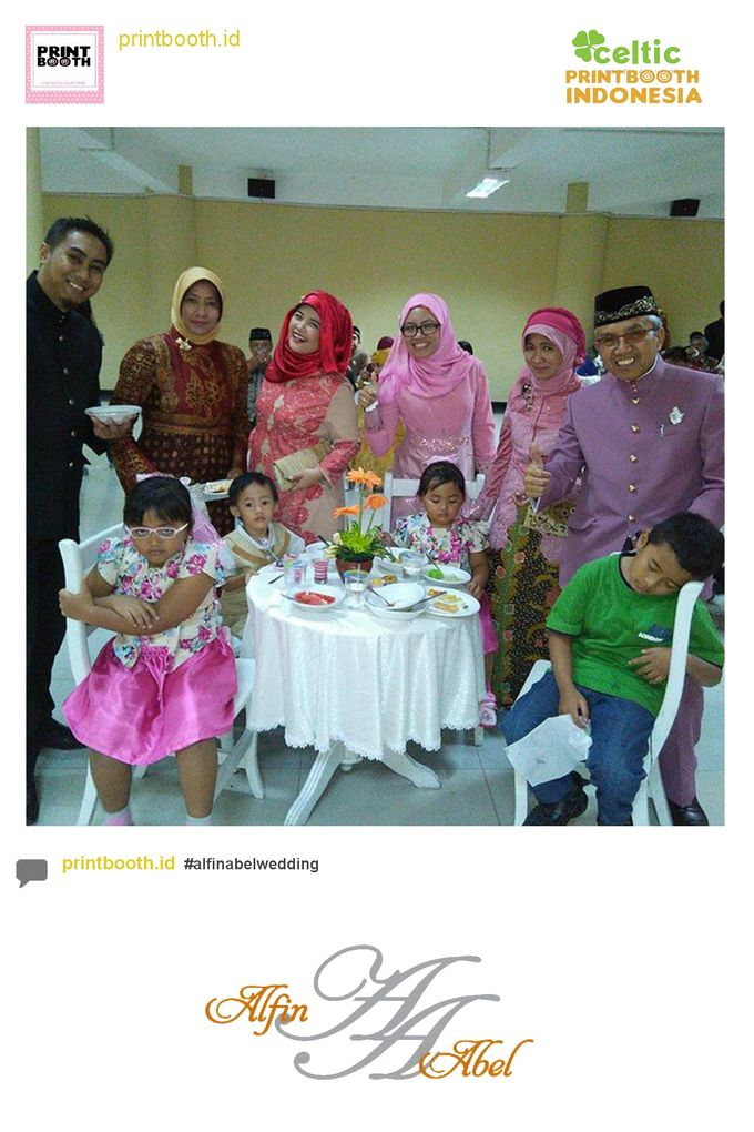Alfin and Abel Wedding Day by PRINTBOOTH INDONESIA - 012