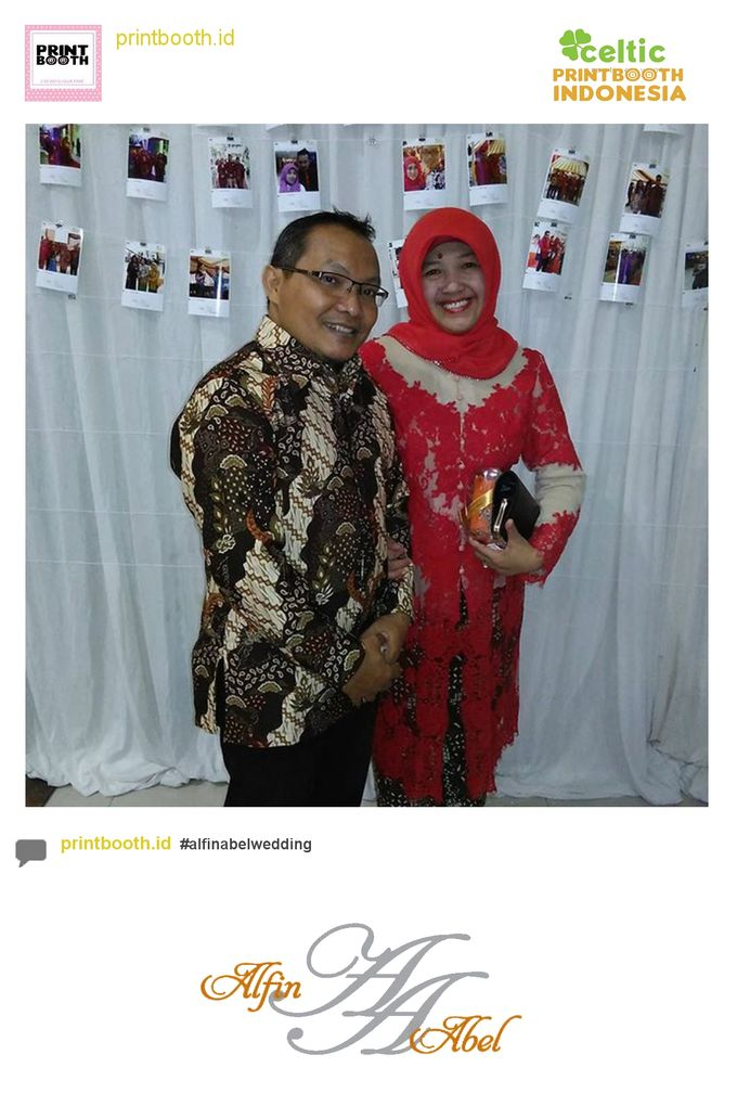 Alfin and Abel Wedding Day by PRINTBOOTH INDONESIA - 020