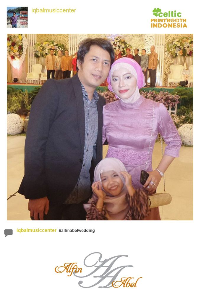 Alfin and Abel Wedding Day by PRINTBOOTH INDONESIA - 022