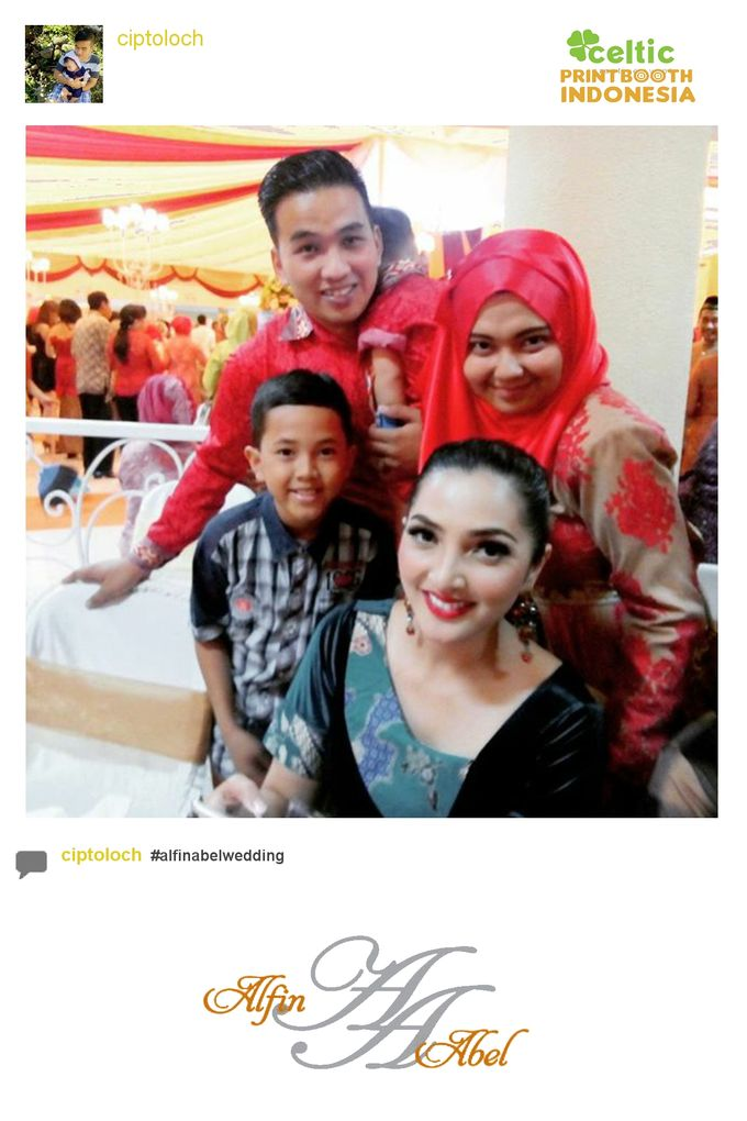 Alfin and Abel Wedding Day by PRINTBOOTH INDONESIA - 023