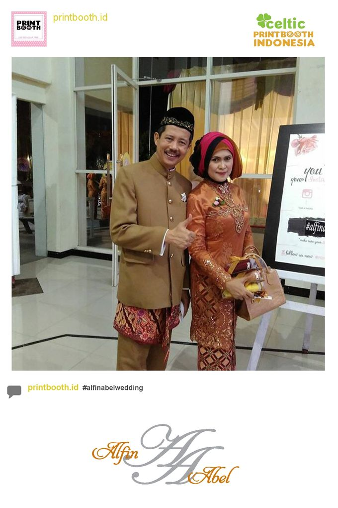 Alfin and Abel Wedding Day by PRINTBOOTH INDONESIA - 024