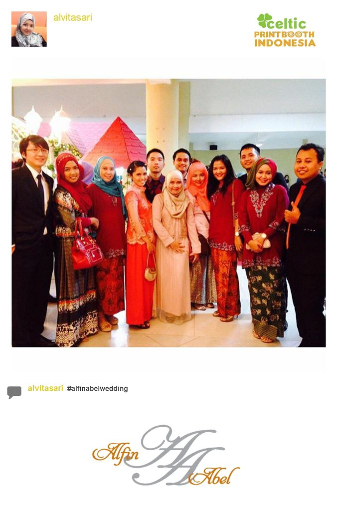 Alfin and Abel Wedding Day by PRINTBOOTH INDONESIA - 001