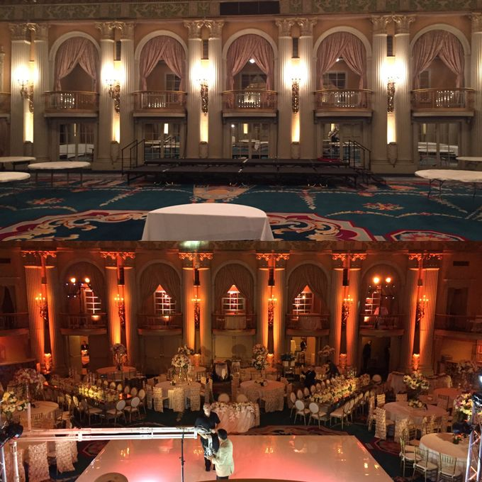 Biltmore Hotel by Pärdē Productions - Parde Productions Event Lighting Los Angeles & Special Effects - 005