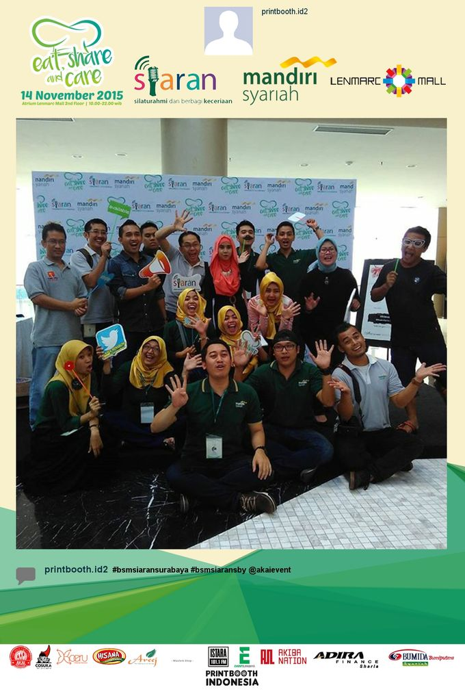 Eat Share n Care by Bank Syariah Mandiri by PRINTBOOTH INDONESIA - 002