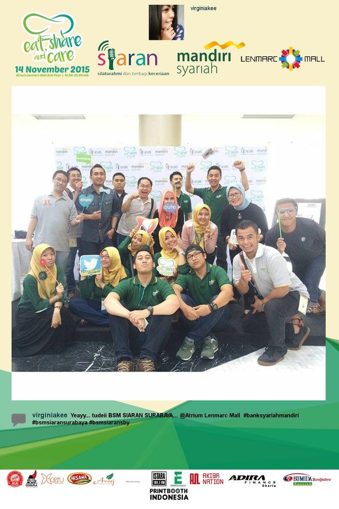 Eat Share n Care by Bank Syariah Mandiri by PRINTBOOTH INDONESIA - 003