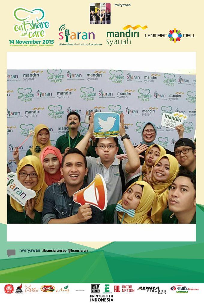 Eat Share n Care by Bank Syariah Mandiri by PRINTBOOTH INDONESIA - 004