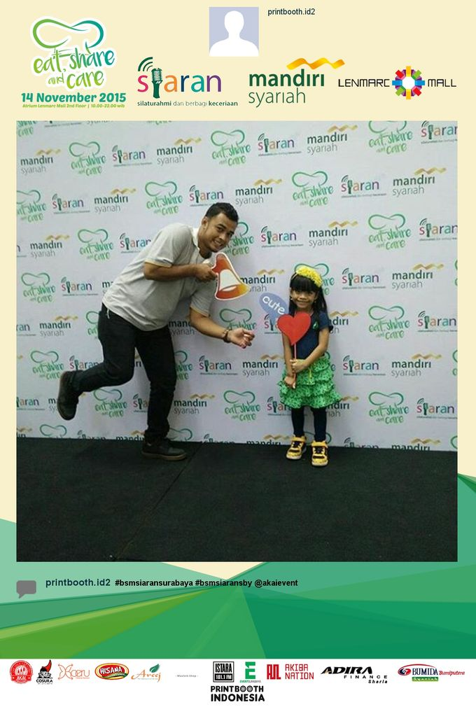 Eat Share n Care by Bank Syariah Mandiri by PRINTBOOTH INDONESIA - 005
