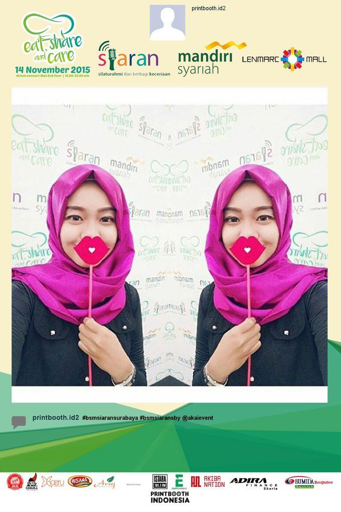 Eat Share n Care by Bank Syariah Mandiri by PRINTBOOTH INDONESIA - 006