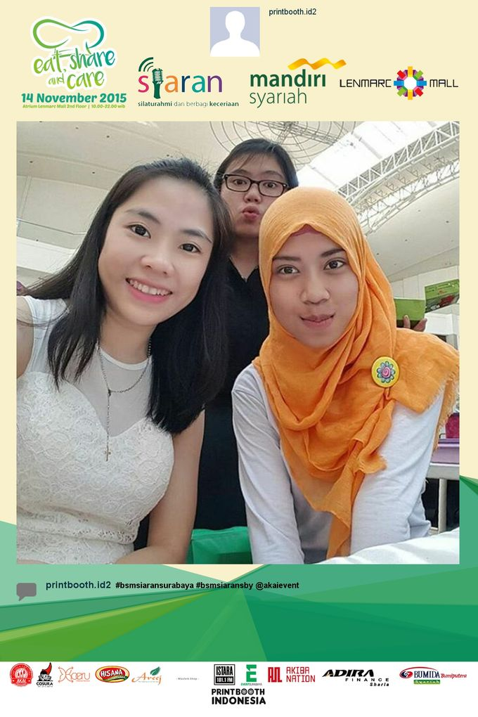 Eat Share n Care by Bank Syariah Mandiri by PRINTBOOTH INDONESIA - 007