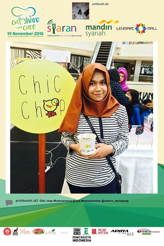 Eat Share n Care by Bank Syariah Mandiri by PRINTBOOTH INDONESIA - 011