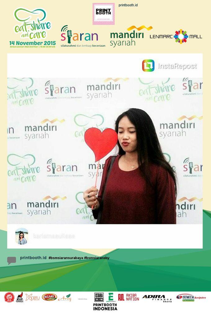 Eat Share n Care by Bank Syariah Mandiri by PRINTBOOTH INDONESIA - 013