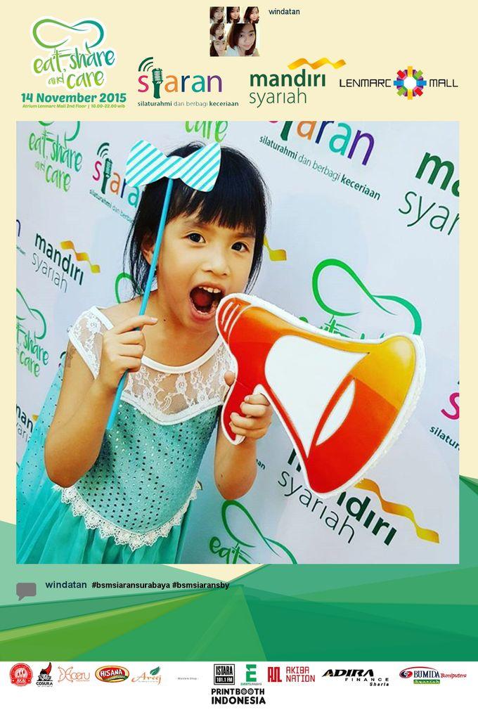 Eat Share n Care by Bank Syariah Mandiri by PRINTBOOTH INDONESIA - 001