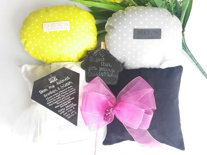 Fashionable Rabbit & Ox Anniversary Pillow by Fashion Pillow Weds - 005