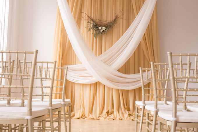 Modern Loft Wedding Ceremony by Stone House Creative - 003