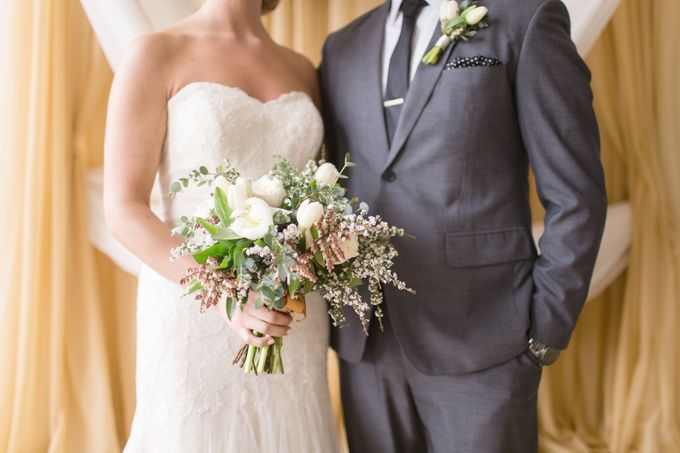Modern Loft Wedding Ceremony by Stone House Creative - 007