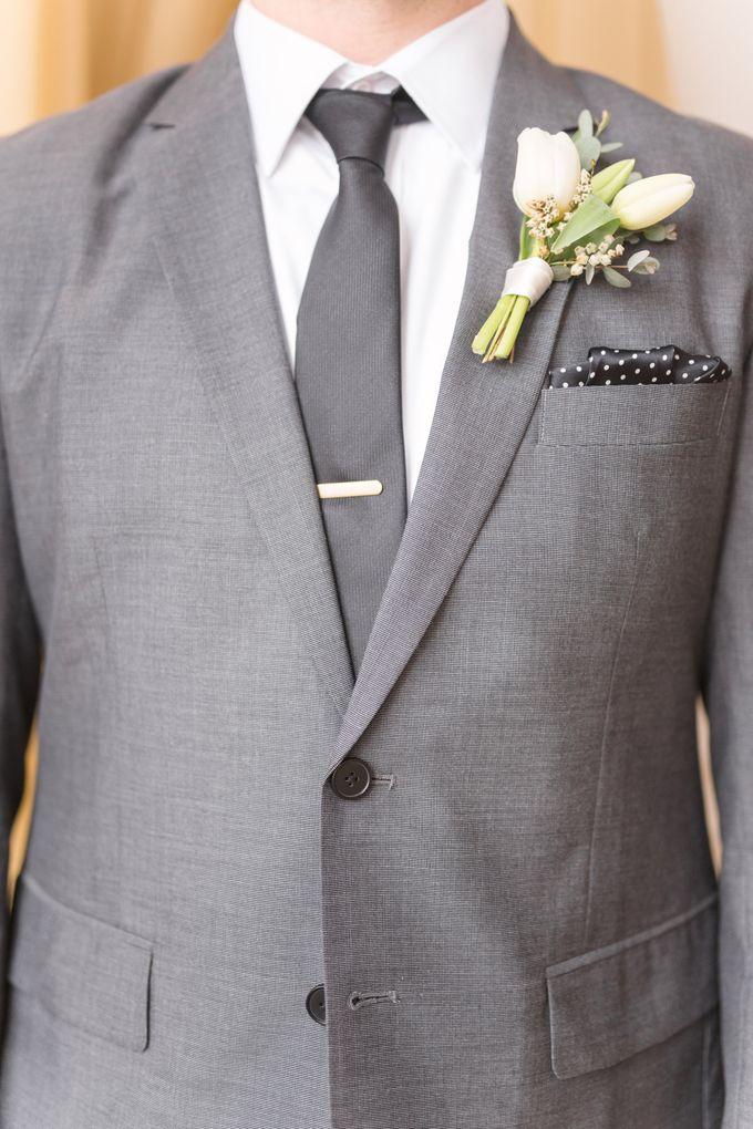 Modern Loft Wedding Ceremony by Stone House Creative - 009