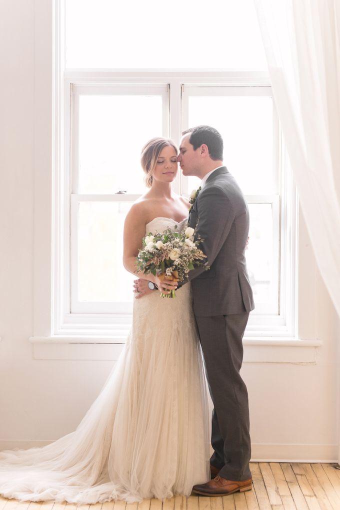 Modern Loft Wedding Ceremony by Stone House Creative - 010