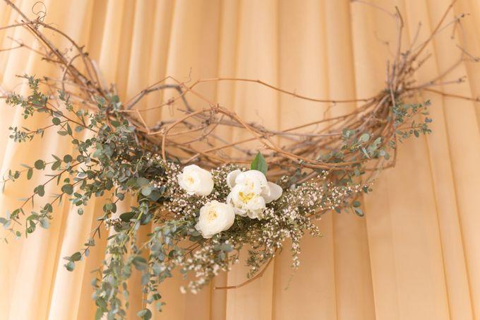 Modern Loft Wedding Ceremony by Stone House Creative - 011