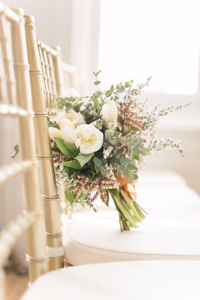 Modern Loft Wedding Ceremony by Stone House Creative - 012