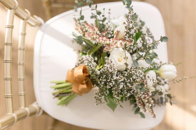 Modern Loft Wedding Ceremony by Stone House Creative - 013