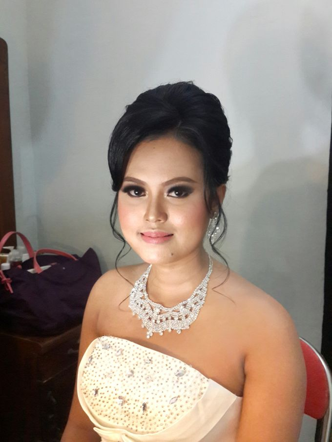 Ria and Anton wedding day by Xinxin Make Up - 002