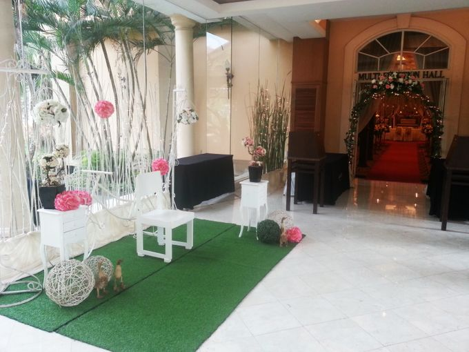 PUJI & NINA by Raffles Hills Cibubur - On Green Garden Venue - 003