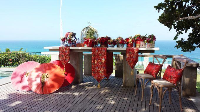 Tea Ceremony - Marlon & Lidia by Puri Amanda Flower Boutique - 002