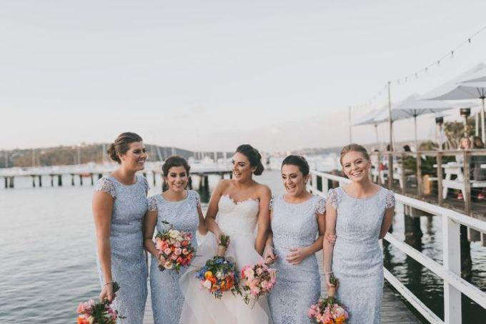 Beach wedding by Wild Blossom Flowers - 002