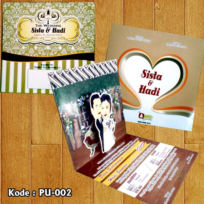 Wedding Invitation by Abud Creative Design - 003