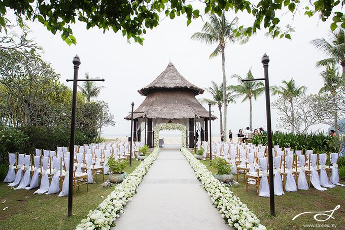 Beach Wedding at Shangri-La's Rasa Ria Resort & Spa by Shangri-La Rasa Ria Resort & Spa - 001