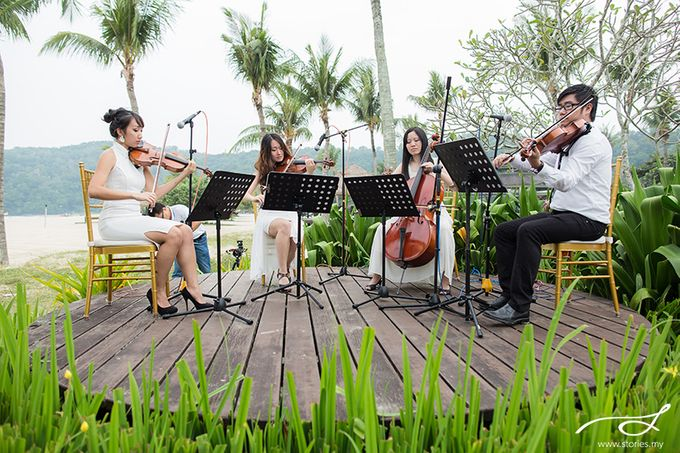 Beach Wedding at Shangri-La's Rasa Ria Resort & Spa by Shangri-La Rasa Ria Resort & Spa - 007