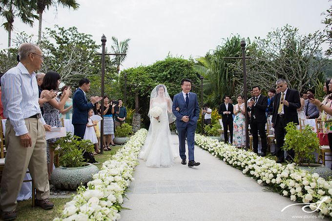 Beach Wedding at Shangri-La's Rasa Ria Resort & Spa by Shangri-La Rasa Ria Resort & Spa - 008