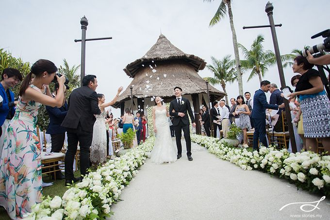 Beach Wedding at Shangri-La's Rasa Ria Resort & Spa by Shangri-La Rasa Ria Resort & Spa - 011