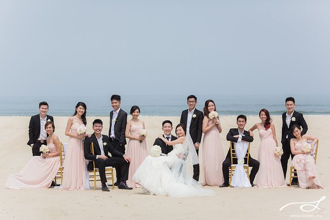 Beach Wedding at Shangri-La's Rasa Ria Resort & Spa by Shangri-La Rasa Ria Resort & Spa - 014