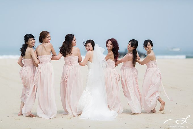 Beach Wedding at Shangri-La's Rasa Ria Resort & Spa by Shangri-La Rasa Ria Resort & Spa - 013