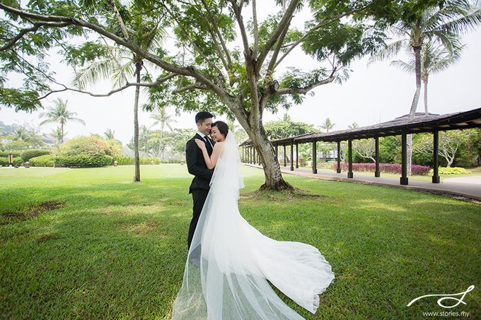 Beach Wedding at Shangri-La's Rasa Ria Resort & Spa by Shangri-La Rasa Ria Resort & Spa - 018