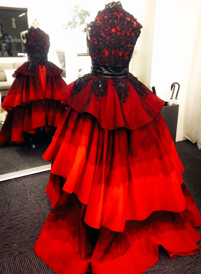 Singapore Tatler Ball 2015 - Fire and Ice by Nicolas Laville Couture - 003