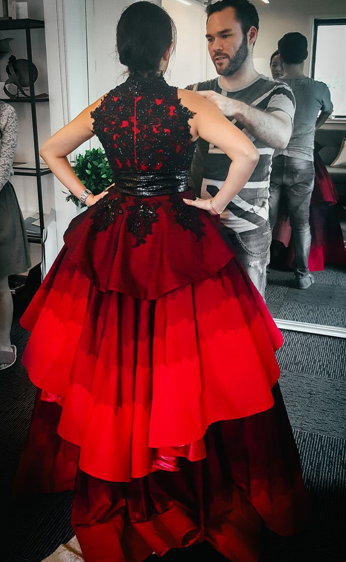 Singapore Tatler Ball 2015 - Fire and Ice by Nicolas Laville Couture - 004